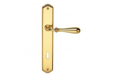 Tirador de puerta H1004 Antares ideal para restauración arquitectónica Valli y Valli