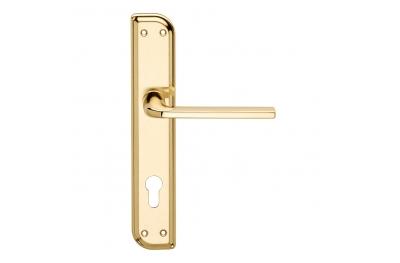 Milly Serie Básica forma manija de la puerta en la placa irregular Frosio Bartolo Diseño Moderno