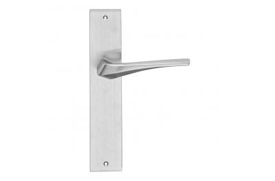 Serie formas minerva manera maneta placa de la puerta de Frosio Bartolo Diseño Contemporáneo