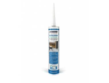 MS Polymer Ellos transparente 290 ml sellador-adhesivo PosaClima Renova