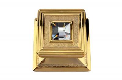 Opera de Cristal 1056 PT Chapado en oro de puerta fina Knok Linea Calì con joyas Cristales de Swarovski