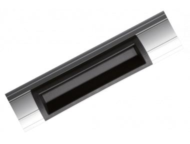 P300RP electroimán para Aplicar con mango 400 mm 300 kg de aluminio Perfil - NFS61937 CDVI