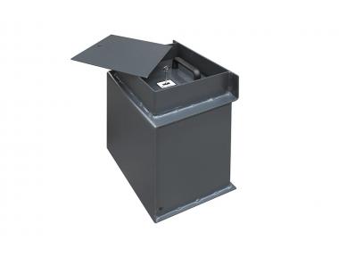 P/01 Bordogna caja fuerte escondida en el suelo diseñado para negocios y tiendas