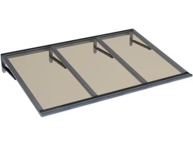 Refugio Lira Gris Bronce Aluminio AMA Sun Protection