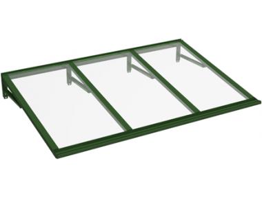 Refugio Lira Verde Transparente aluminio AMA Sun Protection