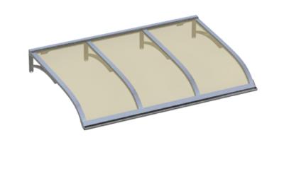 Refugio Vela Aluminio Bronce Aluminio AMA Sun Protection