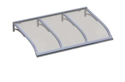Refugio Vela de aluminio gris aluminio AMA Sun Protection
