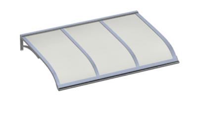 Refugio Vela Aluminium ópalo aluminio AMA Sun Protection