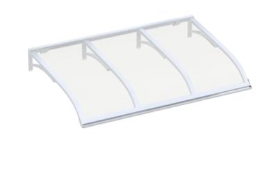 Refugio Vela Blanca Transparente aluminio AMA Sun Protection