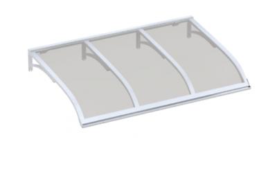 Refugio Vela Blanco Gris Aluminio AMA Sun Protection