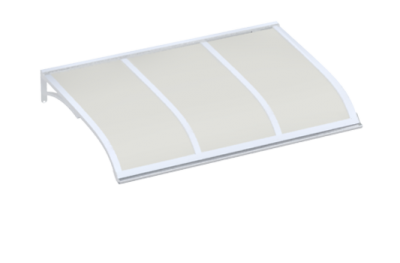 Refugio Vela White Opal aluminio AMA Sun Protection