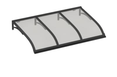 Refugio Vela Gris Gris Aluminio AMA Sun Protection