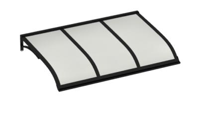 Refugio Vela Negro Opal aluminio AMA Sun Protection