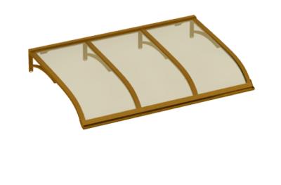 Refugio de vela de cobre bronce aluminio AMA Sun Protection