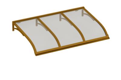 Refugio de vela de cobre gris aluminio AMA Sun Protection