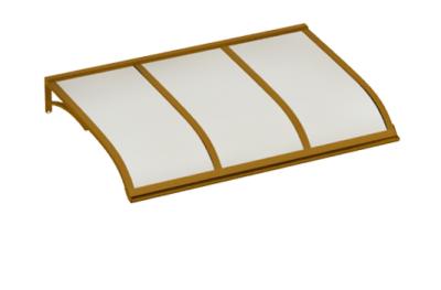 Refugio de vela de cobre ópalo aluminio AMA Sun Protection
