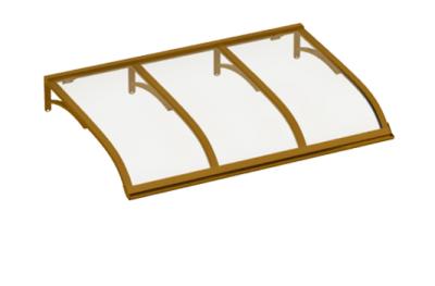 Navegando Cobre refugio transparente Aluminio AMA Sun Protection