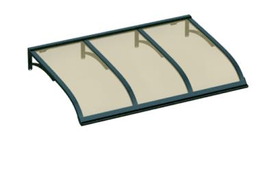Refugio Vela Verde Bronce Aluminio AMA Sun Protection