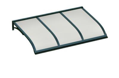 Refugio Vela verde ópalo aluminio AMA Sun Protection