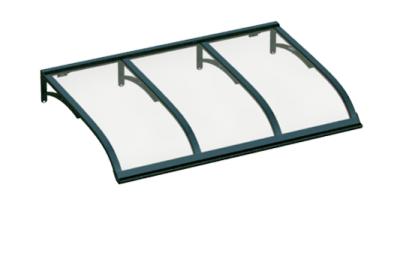 Vela Refugio Verde Transparente aluminio AMA Sun Protection