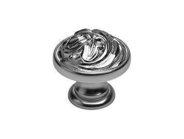 El Mando Clásico para móvil Línea Cali PB de la vendimia con acabado plata antigua