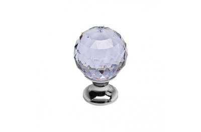 Pomo línea móvil Cali cósmico Crystal CR con Swarowski® Viola