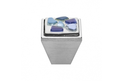 mando móvil Linea Cali Crystal BRERA STONE PB 27 CS insertar cristal azul azul
