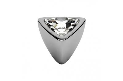 mando móvil Linea Cali Crystal COMET PB CR con Swarowski cromo pulido