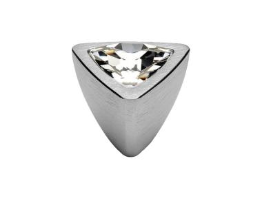 Mobile Linea Cali pomo de cristal COMET PB CS con Swarowski cromo satinado