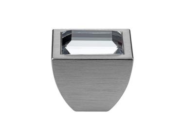 Mobile Linea Cali pomo de cristal Elios Cristal PB con Swarowski® cromo satinado