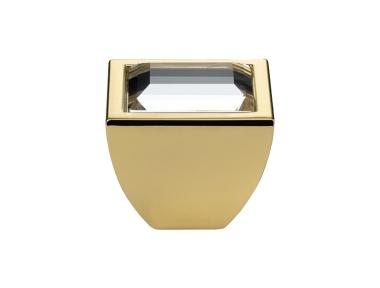 Mobile Linea Cali pomo de cristal Elios Cristal PB Swarowski® de oro puro