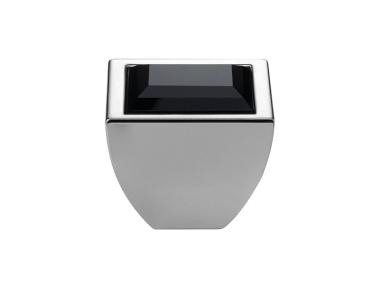 mando móvil Linea Cali Crystal Elios Swarowski® cristal Jet Negro Cromo