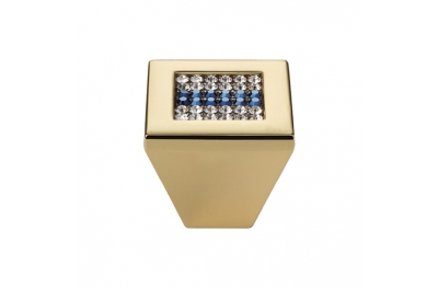 Mobile Linea Cali perilla Crystal Mesh azul PB con Swarowski® Blu Oro Zecchino