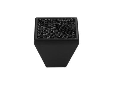 Mobile Linea Cali Rocas de mando PB con cristales negros Swarowski® Matt Negro