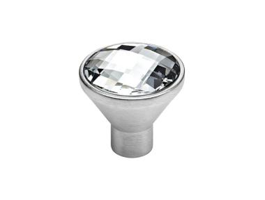 mando móvil Linea Cali Verónica PB con cristales Swarowski® cromo satinado