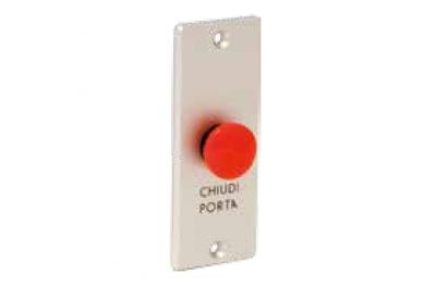 Botón-Fuego de desbloqueo de puerta de puerta de incendios Serie 55018 Perfil Opera
