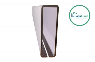 Refuerzo de acero para contramarco Klima Pro PosaClima 12x40 mm