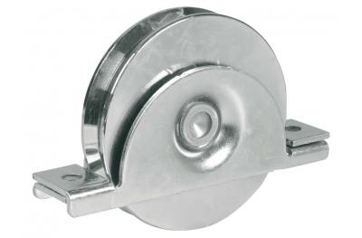 Rueda de soporte interno con un rodamiento de bola Garganta V correderas Puertas IBFM