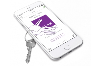 Sistema de Control de Acceso y Asistencia Sclak abrir la cerradura con smartphone