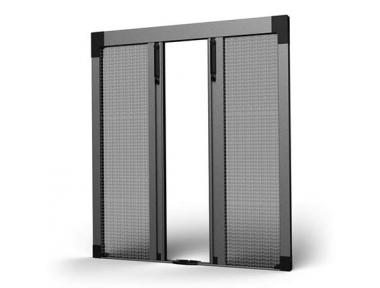 Mosquitera Plisada SharkNet Apertura Central 04 para Balcones y Puertas de Patio