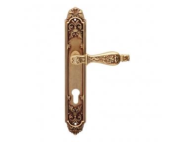 Siracusa Serie Epoque forma manija de la puerta en la placa Frosio Bartolo Made in Italy