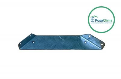 Soporte de refuerzo de acero para contramarco Klima Pro PosaClima