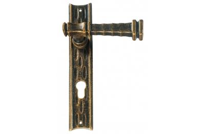Stile Antico Galbraith manejar en la puerta de la placa