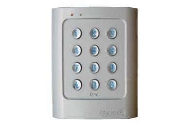 Teclado Autónoma DGA Retro-Lit Aleación de Aluminio DIGICODE 2 Relé Control de Acceso CDVI