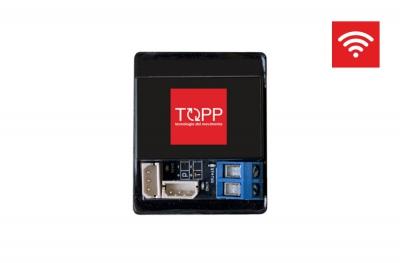 Dispositivo WiFi RwBox Topp para conectar sensores de viento y lluvia para actuadores