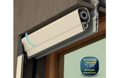 Mosquitera Bettio Clever instalación aire libre fácil seguro Primavera Vertical