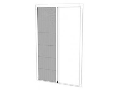 Mosquitera Effe Pleat22L abertura lateral plisado de red para espacios pequeños