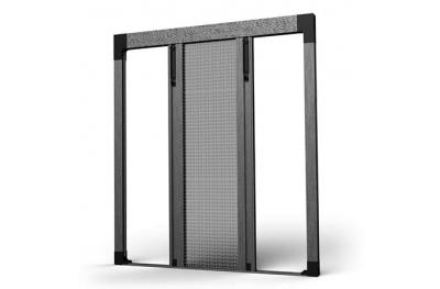 Mosquitera Plisada Bilateral 04 para Balcones y Puertas SharkNet
