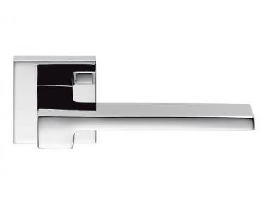 Manija de puerta cromada pulida de Zelda en el diseñador Jean Marie Massaud de Rosette para Colombo Design
