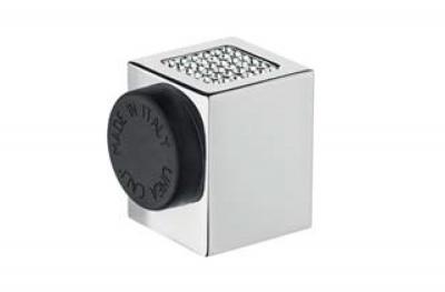 Zen Mesh 302 FE Calì Line Door Stopper con cristales Swarovski® en forma de cubo